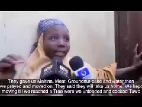 Interview With One Of The Released Dapchi Girls (Watch Video)