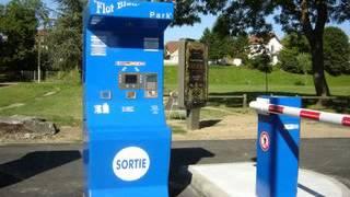 Aire de Camping Cars de Moulins, dans l'Allier