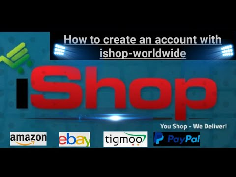 HOW TO CREATE AN ACCOUNT WITH ISHOP WORLDWIDE ZAMBIA
