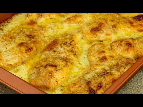 blancs-de-poulet-au-four-en-sauce-crémeuse-à-la-moutarde!-|-savoureux.tv