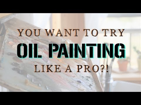 Beginner Oil Painting Supplies (Affordable High Quality)