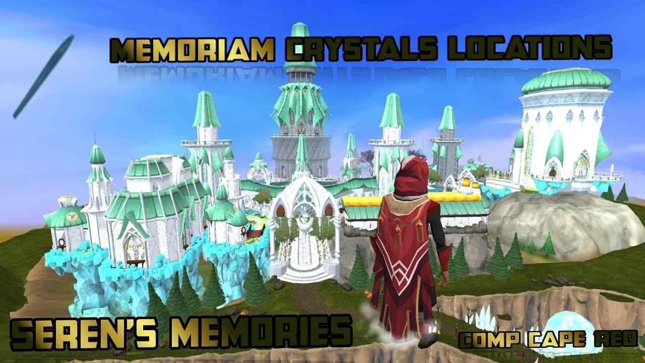 Runescapememorium Locations Guideseren Crystalsprifddinas Youtube