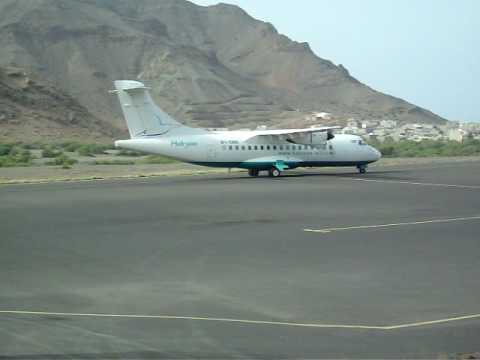 Halcyon Air ATR 42-320 landing part 2