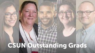 CSUN Outstanding Grads 2016: Tamus Glunz