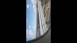 Lanzarote Landung über Land mit Durchstarten