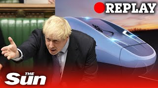 HS2: PM Boris Johnson gives green light to the high-speed rail line - REPLAY