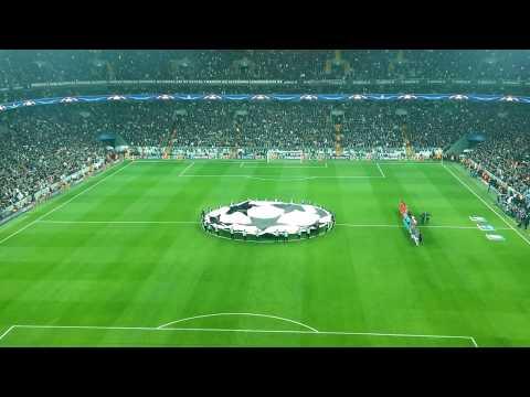 Vodafone Park'ta Şampiyonlar Ligi Müziği (4K) | Beşiktaş - Monaco Maçı Öncesi