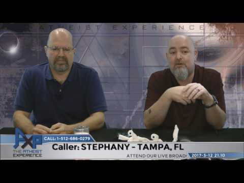 Stephanie Thomason vs Matt Dillahunty, or how not to debate an Atheist!