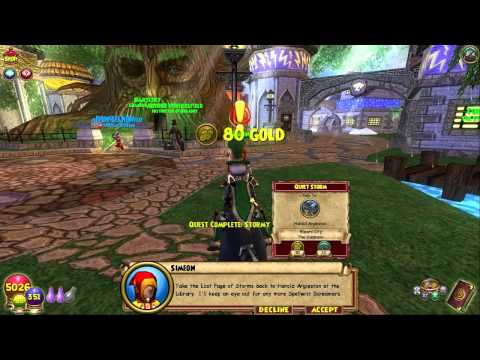 Wizard101: Lost Pages Quest [Part 1]: Woo! I'm a Scribe!