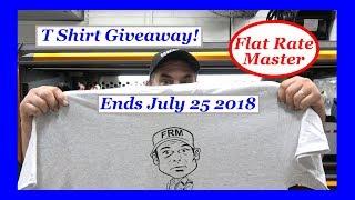 T Shirt Giveaway Ending July 25 2018