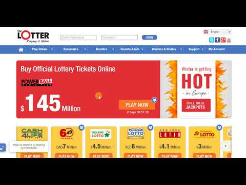 The Lotter - Purchase Lottery Tickets from Around the World!