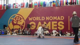 Игры кочевников-2016: Турнир по кыргыз курошу, финал/весовая категория 55 кг