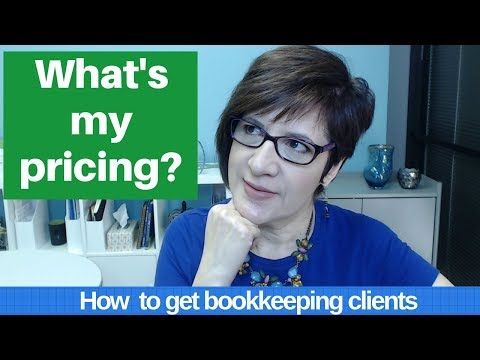 How to price your bookkeeping services