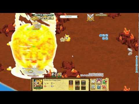Social Empires Golden Epic Dragon