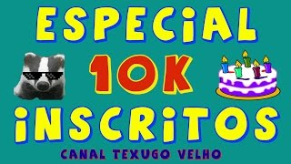 ESPECIAL 10K! É NÓIS QUE AVOA! TEXUGO VELHO - BLOOD STRIKE