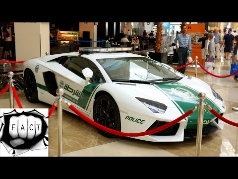 Top 10 Dubai Police's Most Awesome Supercars 2015