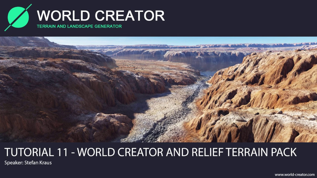 World Creator 2 2 for Unity - Tutorial 11 (Relief Terrain Pack)