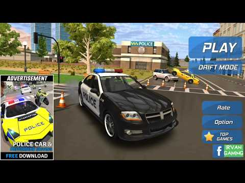 Game mobil polisi | police car chase first gameplay HD