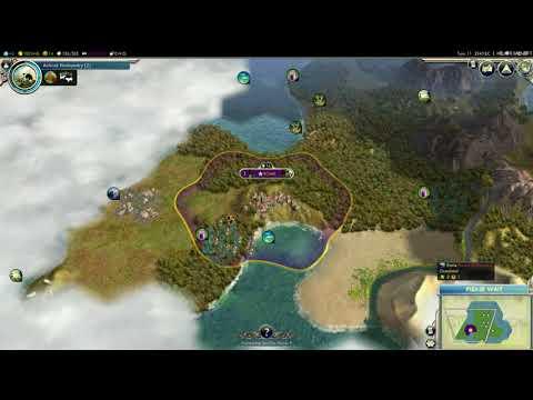 Sid Meier's civilization V- i am alone on my island! |