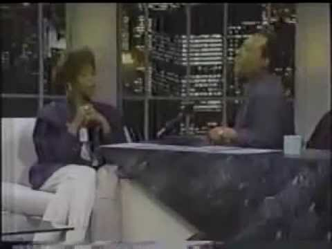 whitney houston byron allen show 1990