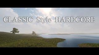 7DaysToDie. Classic Style Hardcore. Часть 85. Глупая смерть Бег с зомбями и Тир [20180612]