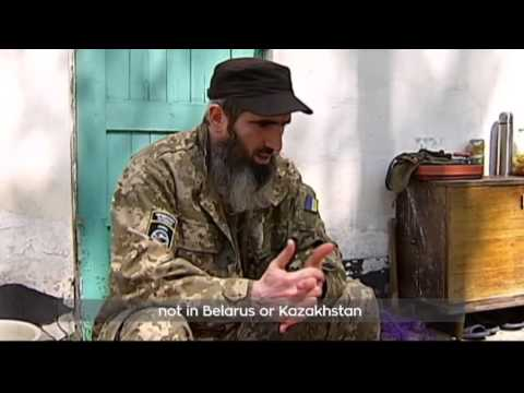 Chechen Fighters in East Ukraine: Chechens and Ukrainians join forces in battle with militants