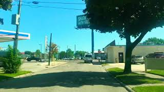 Driving to Detroit, Michigan from Hazel Park, Michigan