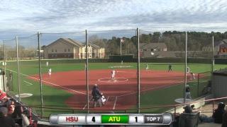 Reddies Softball vs. Arkansas Tech (Games 3 & 4)   Feb. 25, 2019