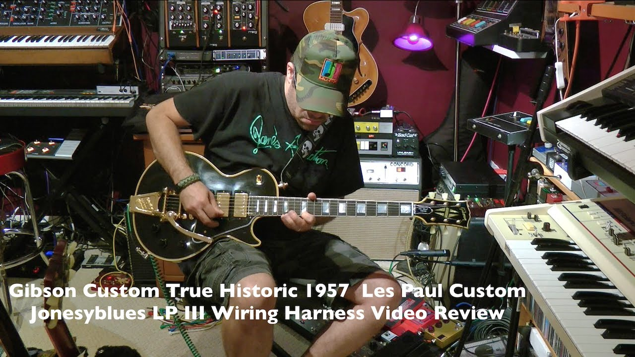 medium resolution of gibson true historic 1957 les paul custom jonesyblues lp iii wiring harness review