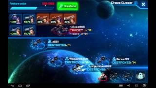 Galaxy Legend Tutorial: Beating the Chaos Quasar (all 15 fleets)