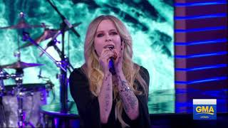 Avril Lavigne - Head Above Water Good Morning America HD Video