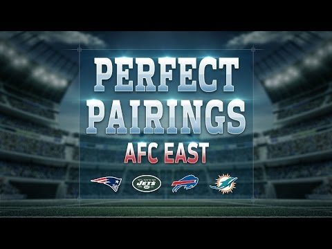 AFC East NFL Draft Perfect Pairs Picks | Move The Sticks | NFL