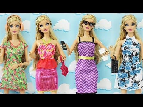 Barbie faz COMPRAS de Roupas para ENCONTRO! Novelinha da Barbie Beatriz em Portugues
