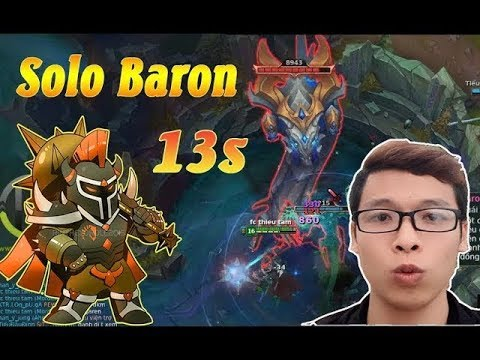 Mordekaiser Bắt Rồng Solo Baron Chỉ 13s | AD Bốc Hơi Với 1 Gõ - Trâu Best Udyr