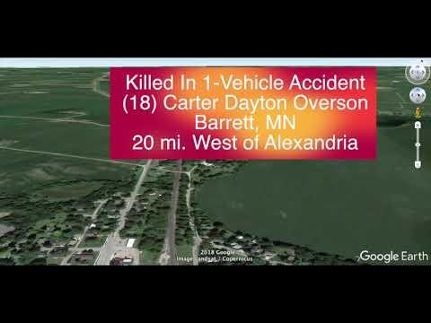 Victim Of Deadly Crash Near Alexandria, MN Identified