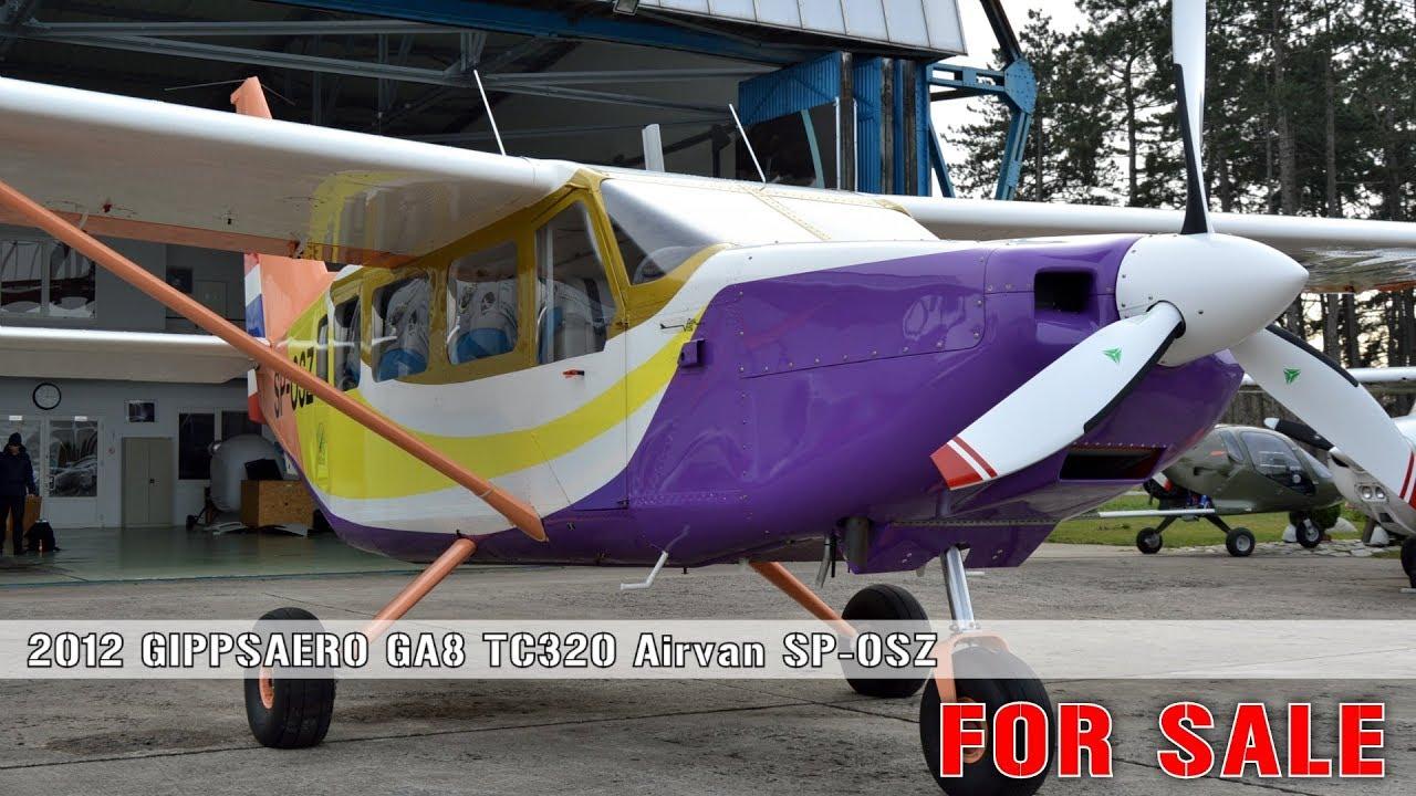 GIPPSAERO GA8 TC320 Airvan SP-OSZ FOR SALE