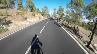 Mount Teidi Descent on the Lapierre Aircode