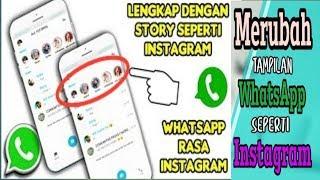 Download lagu Cara Merubah tampilan WhatsApp seperti Instagram