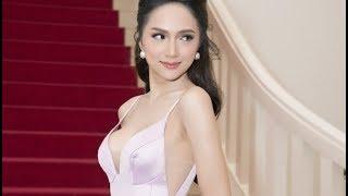 Clip 18+ Hoa hậu chuyển giới Hương Giang khoe ngực