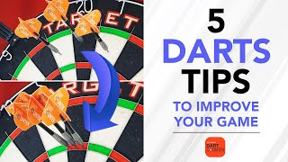 THESE 5 TIPS WÏLL IMPROVE YOUR DARTS GAME! 🎯