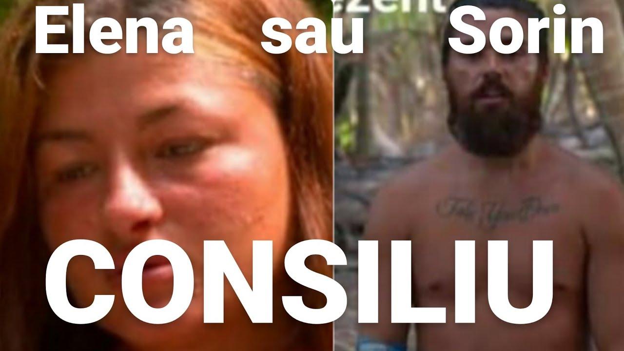 Consiliu. Sorin sau Elena? Cine părăsește Survivor?