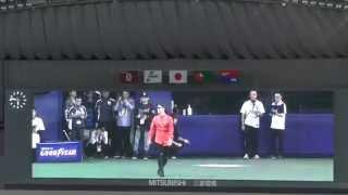 ナゴヤドーム、試合開始前のグラウンドにAK-69さん登場 谷繁選手兼任監...