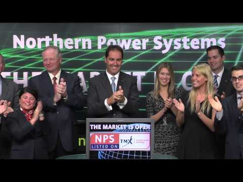 Northern Power Systems (NPS:TSX) opens Toronto Stock Exchange, June 10, 2014