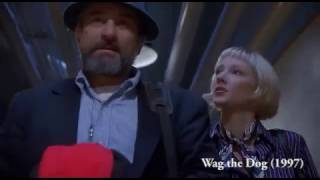 Distracting the public, justifying the war machine. Wag the Dog (19...