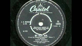 Matt Monro With Bob Bain's Music - My Best Girl (Capitol UK)