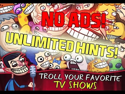 How To Hack Troll Face Quest TV Shows Android/iOS