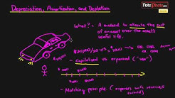 Depreciation, Amortization, and Depletion Explanation (Financial Accounting Tutorial #57)