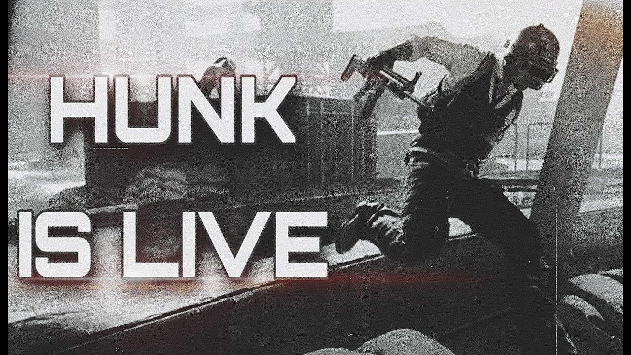 Hunk is live! (A)