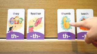 【Phonics ch/sh/th】consonant digraphs