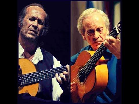 Paco de Lucia & Paco Peña playing fandangos